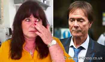 Cliff Richard messages Coleen Nolan before she's seen breaking down 'Couldn't believe it' - Express
