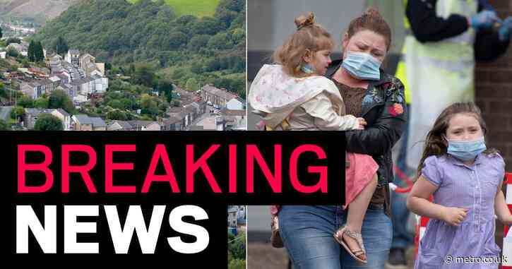 Second area in wales is put under lockdown