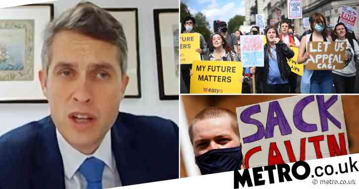 Gavin Williamson repeatedly dodges questions as he's grilled on exams scandal