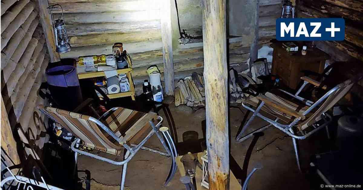 Bunker in Nuthetal: Kinder finden mysteriösen Unterschlupf im Wald - Märkische Allgemeine Zeitung