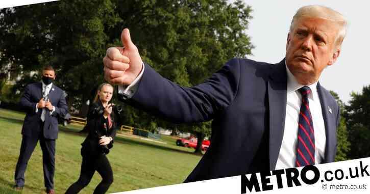 Donald Trump claims 'herd mentality' will make coronavirus go away by itself