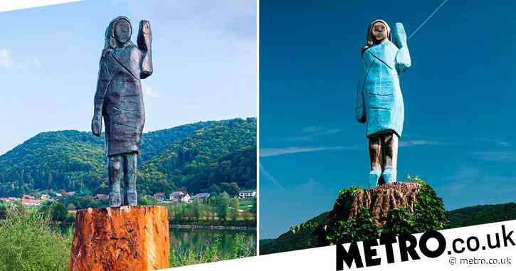 New Melania Trump statue feels incredibly familiar