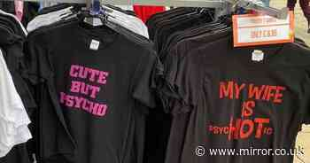 Woman hits out at shop for selling 'offensive' t-shirts about mental health