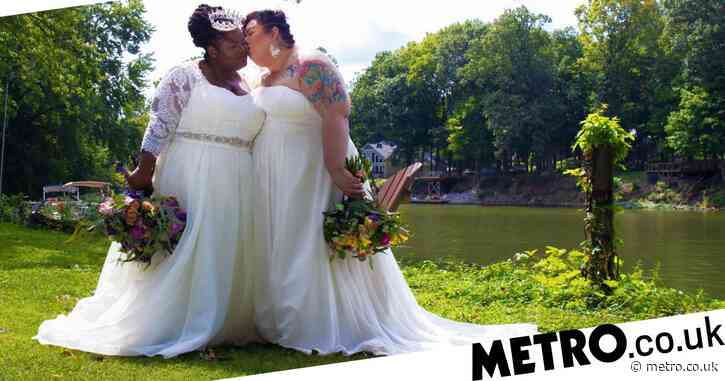 Lesbian couple marry in empty Airbnb as their parents don't want to celebrate with them