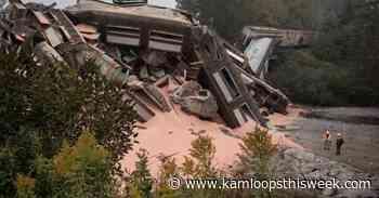 Cleanup is underway after train derailment in British Columbia - Kamloops This Week