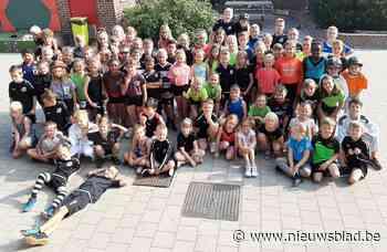 Iedereen sportief in basisschool Borsbeke