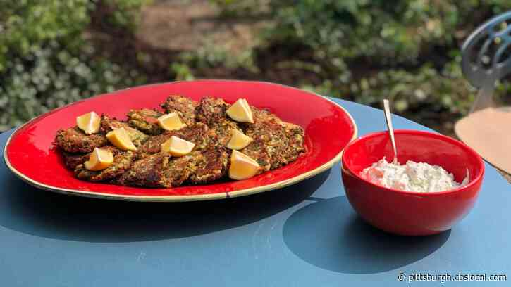 Cooking With Rania: Zucchini Fritters