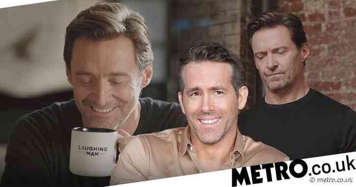 Ryan Reynolds playfully trolls Hugh Jackman as he narrates actor's new coffee advert