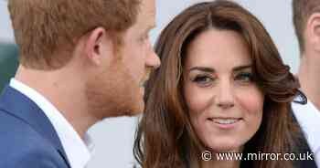 Kate's birthday message to Prince Harry mocked after fans spot telling link