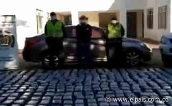 En Roldanillo, un hombre fue capturado cuando movilizaba 357 kilos de marihuana en un carro - El País