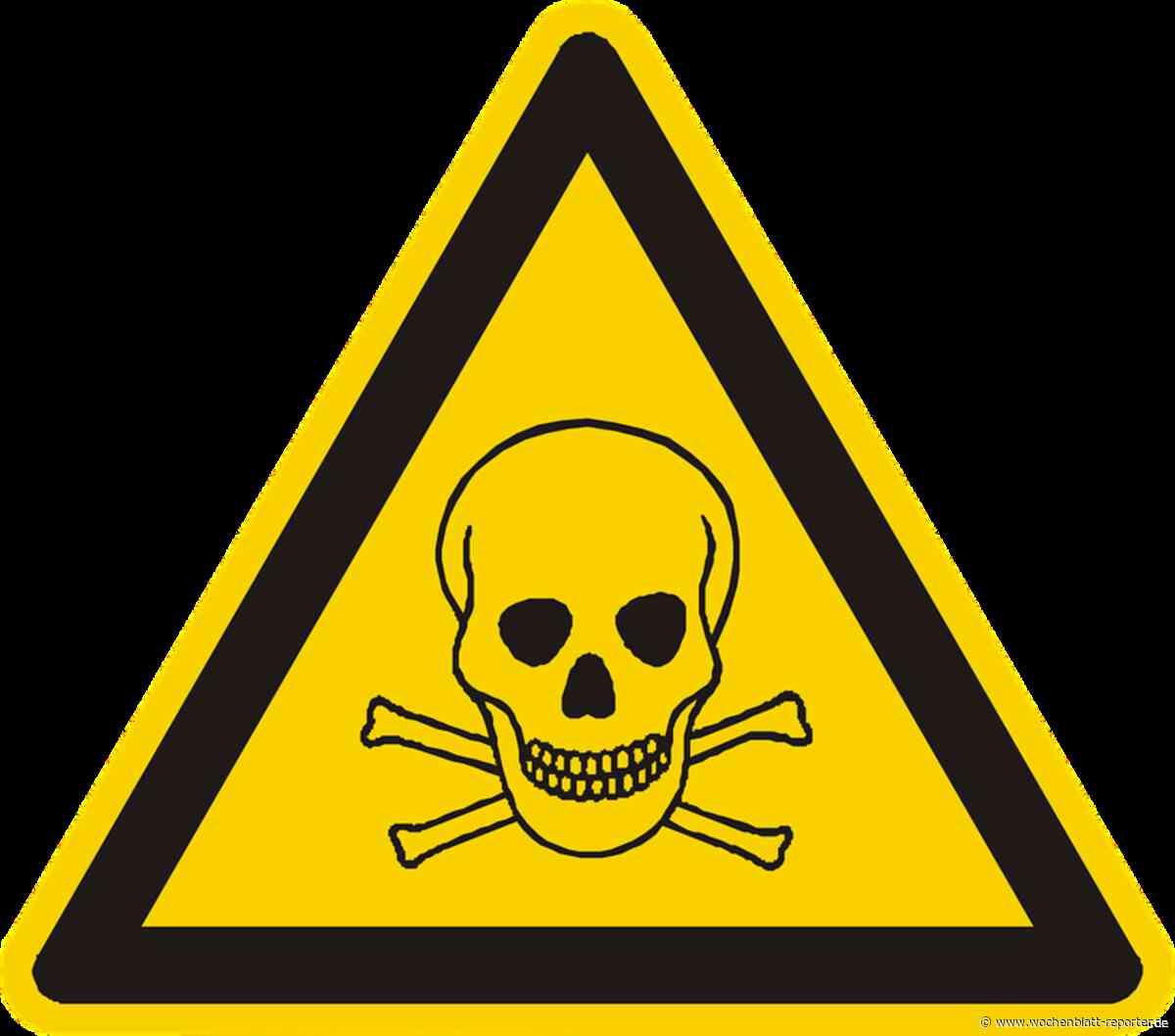 Neueste Informationen:: Gegen gefährliche und giftige Abfälle - Wochenblatt-Reporter