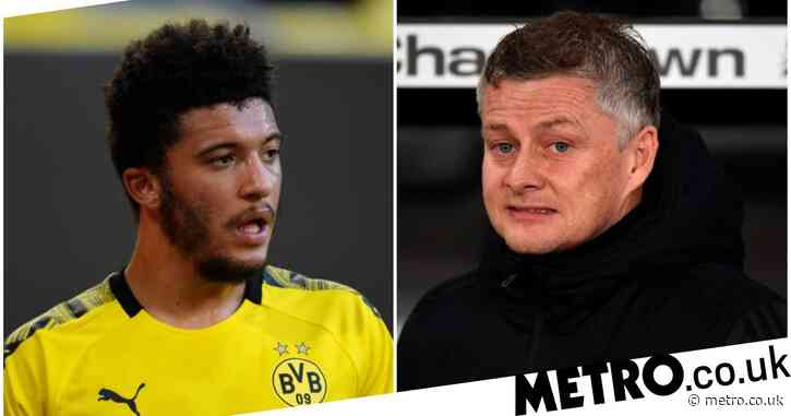 Ole Gunnar Solskjaer tells Jadon Sancho that Manchester United move is close
