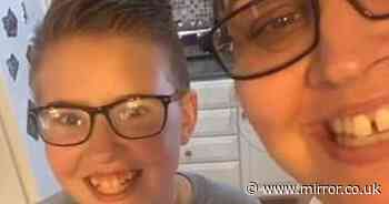 Christian mum proudly embraces 12-year-old son after he comes out as transgender
