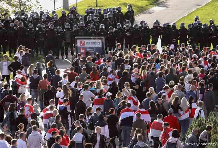 Russia accuses U.S. of promoting revolution in Belarus