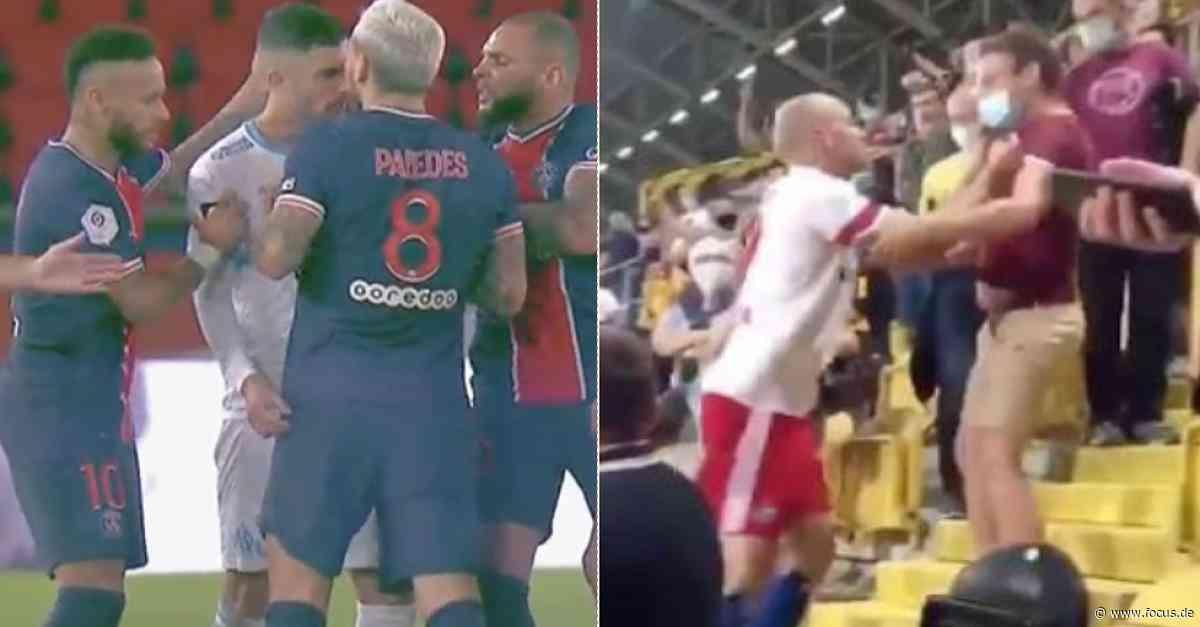 Neymar & Leistner mit fataler Reaktion: So seid ihr kein Vorbild für die Jugend! - FOCUS Online