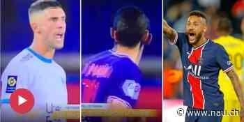 Neymar gerächt? PSG-Star Di Maria spuckte Marseille-Gegenspieler an! - Nau.ch