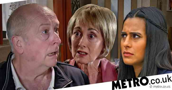 Coronation Street spoilers: Geoff Metcalfe destroyed as Alya Nazir finds Elaine Jones?