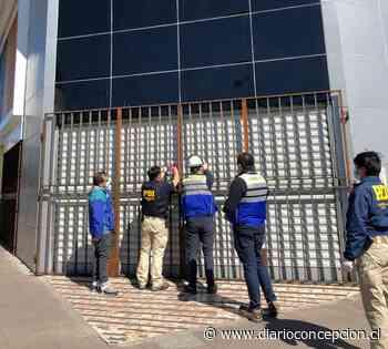 Concepción: PDI y Seremi de Salud clausuran Mall chino que atendía en cuarentena - Diario Concepción