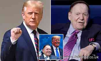 Cash-strapped Donald Trump gets boost as casino magnate Sheldon Adelson