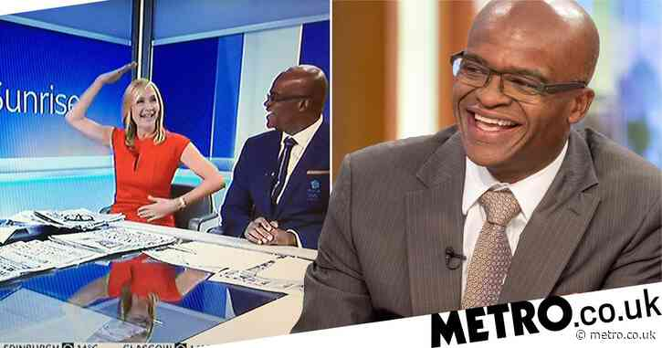 Olympian Kriss Akabusi reveals 'life-saving' discussion on Sky News saved him from bowel cancer