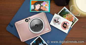 Canon's Ivy Cliq+ 2 instant camera can print circular stickers
