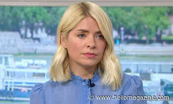 Watch Holly Willoughby fight back tears after emotional moment on This Morning