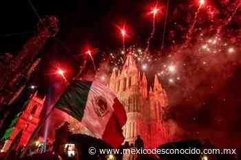 Programa para celebrar las Fiestas Patrias en San Miguel de Allende - México Desconocido