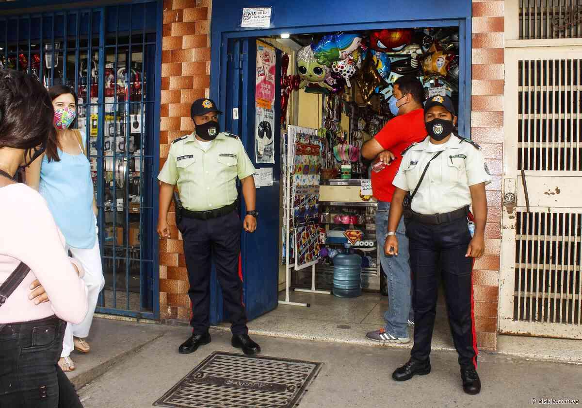 Policías de Sucre se desplegaron en la zona comercial de Cagua - Diario El Siglo