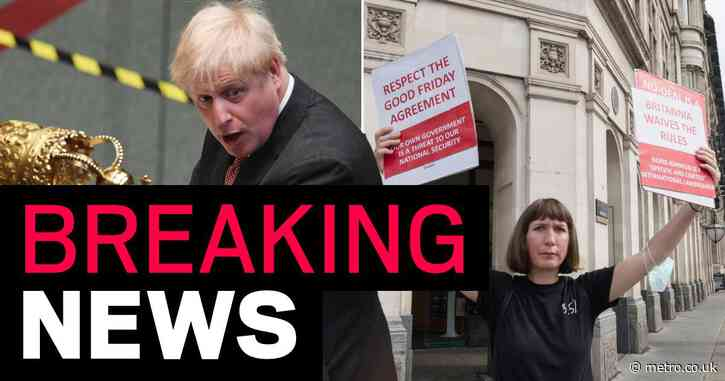 Boris climbs down on law-breaking Brexit plan after threat of Tory revolt
