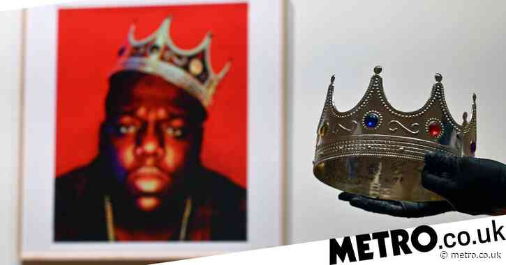 Crown worn by Notorious B.I.G. in iconic last photoshoot sells at auction for almost £500,000