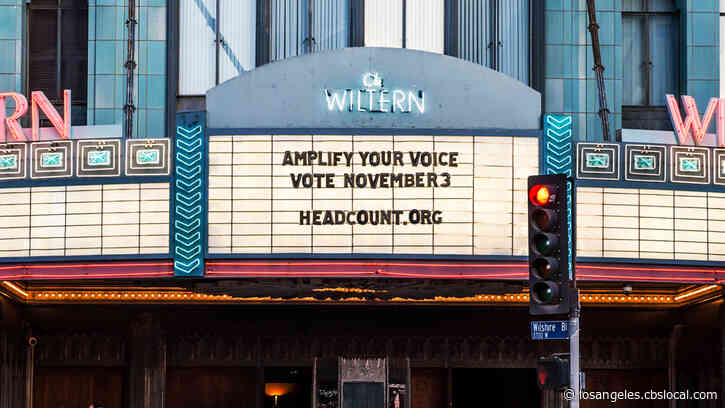 The Wiltern, Hollywood Palladium To Serve As 2020 Polling Places