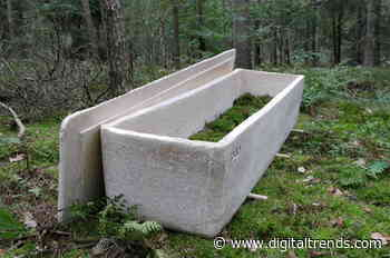 This fungus-based coffin doesn't preserve your corpse. It decomposes it