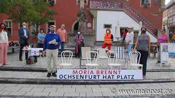 Wie Ochsenfurt die Not in Moria lindern kann - Main-Post