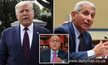 Donald Trump tweets attack on Dr. Fauci by Fox News doctor