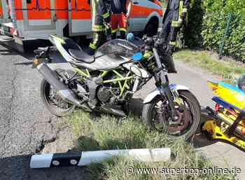 Motorradunfall in Haan: 18-Jähriger verliert Kontrolle bei Kurvenfahrt - Kreis Mettmann - Supertipp Online