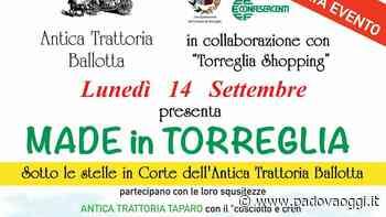 """""""Made in Torreglia"""" all'Antica trattoria Ballotta: shopping e buon cibo nella """"food valley"""" dei Colli - PadovaOggi"""