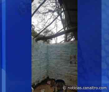 Una familia de Curití perdió todo por un vendaval - Canal TRO