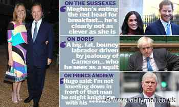 Sasha Swire's character assassinations revealed in blistering review of her wicked political diaries