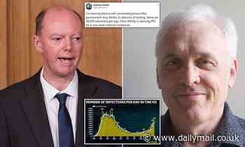 Professor Chris Whitty 'wants a new two-week national lockdown', ex-WHO expert claims