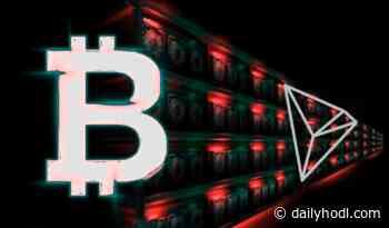 On-chain Metrics Belie Bitcoin (BTC) Dips Below $10,000, Spotlight on Tron (TRX) - The Daily Hodl