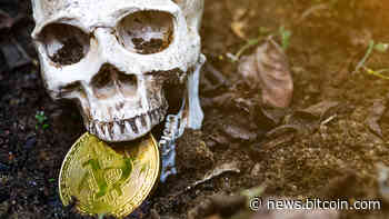 Bitcoin Obituaries Lists Another Crypto Eulogy, 2020 BTC Deaths in the Single Digits   Featured - Bitcoin News