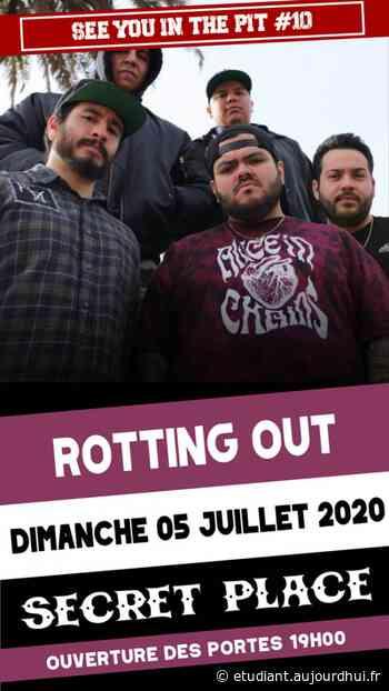 ROTTING OUT - Secret Place , Saint Jean De Vedas, 34430 - Sortir à France - Le Parisien Etudiant