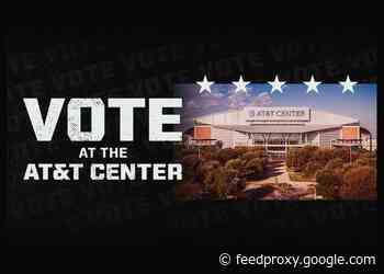 AT&T CENTER ANNOUNCED AS A BEXAR COUNTY POLLING SITE FOR 2020 GENERAL ELECTION
