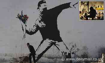 Banksy is stripped of copyright for his famous 'Flower Thrower' artwork over anonymity