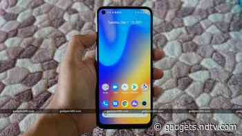 Realme 7 to Go on Sale in India Today at 12 Noon via Flipkart, Realme.com: Price, Specifications