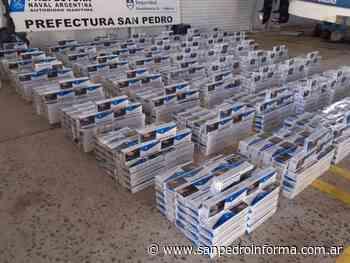 Operativo en el Paraná: En total se secuestraron 2293 carto - San Perdo Informa