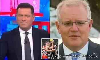 Karl Stefanovic slams Queensland border ban that means Scott Morrison will miss the AFL Grand Final