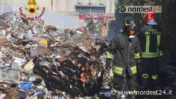 Incendio alla Futura Srl di Montebello Vicentino: aggiornamento - Nordest24.it