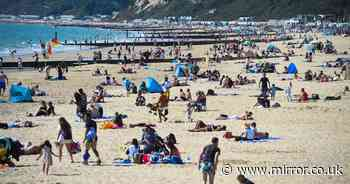 Brits to sizzle in more Autumn heat over weekend as hot temperatures continue