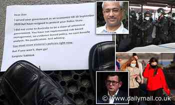 Victorian government economist Sanjeev Sabhlok resigns in protest of Dan Andrews' 'police state'